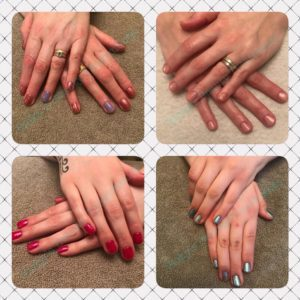 cnd shellac / pamper party