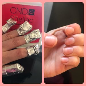 CND Shellac Removal